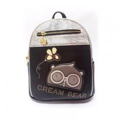 Originální dámský/dívčí batoh  Cream Bear, C1043-2