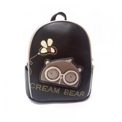 Originální dámský/dívčí batoh Cream Bear, C1043-4