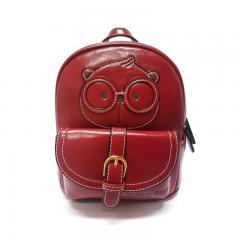 Originální dámský/dívčí batoh Cream Bear, C1012-5 red