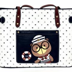Originální dámská/dívčí kabelka  Cream Bear, C1083-1
