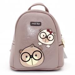 Originální dámský/dívčí batoh Cream Bear, C1085-5