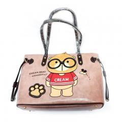 Originální dámská/dívčí kabelka  Cream Bear