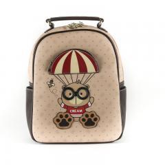 Originální dámský/dívčí batoh Cream Bear, C1007-1