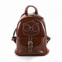 Originální dámský/dívčí batoh Cream Bear, C1012-5 brown
