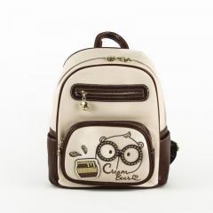 Originální dámský/dívčí batoh Cream Bear, C1028-3