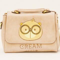 Originální dámská/dívčí kabelka  Cream Bear, C1052-1