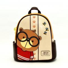 Originální dámský/dívčí batoh Cream Bear, C1059-4