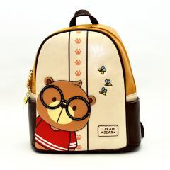 Originální dámský/dívčí batoh Cream Bear, C1059-3