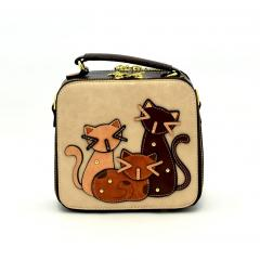Originální dámský/dívčí kufřík Sammao, M1274-3