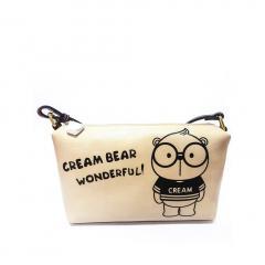Originální dámská/dívčí kabelka Cream Bear, C1035-3a