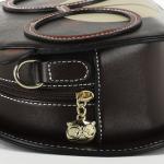 Luxusní, designová kabelka značky Cream Bear, dámská / dívčí, malá, kulatá