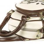 Luxusní, designová kabelka značky Cream Bear, dámská / dívčí, malá, kosmetická