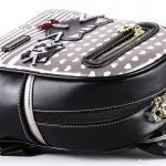Luxusní, designový batoh značky Sammao, dámský / dívčí, malý,