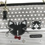 Luxusní, designová kabelka značky Sammao, dámská / dívčí, malá, kosmetická