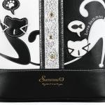 Luxusní, designový batoh značky Sammao, dámský / dívčí, velký,