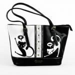 Luxusní, designová kabelka značky Sammao, dámská / dívčí, velká,