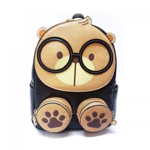 Originální dámský/dívčí batoh Cream Bear, C1042-1 black
