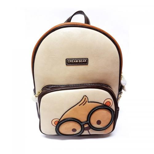 Originální dámský/dívčí batoh Cream Bear, C1027-3