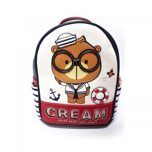 Originální dámský/dívčí batoh Cream Bear, C1030-4