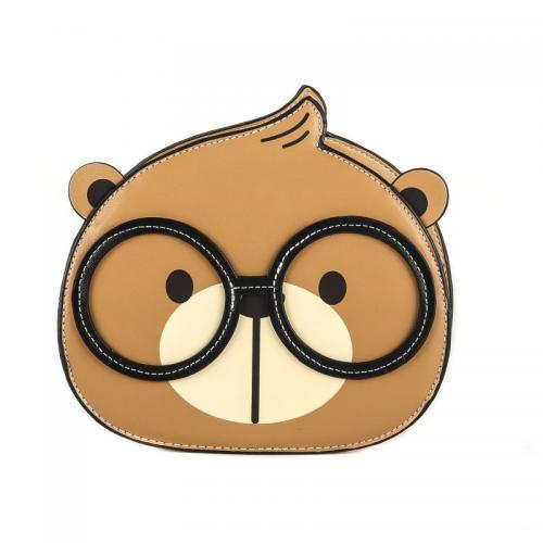 Originální dámská/dívčí kabelka  Cream Bear, C1001-3
