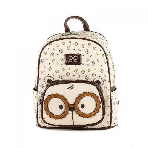 Originální dámský/dívčí batoh Cream Bear, C1031-3
