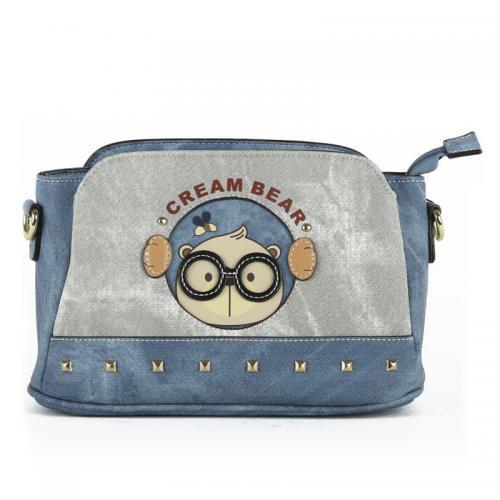 Originální dámská/dívčí kabelka  Cream Bear, C1034-2
