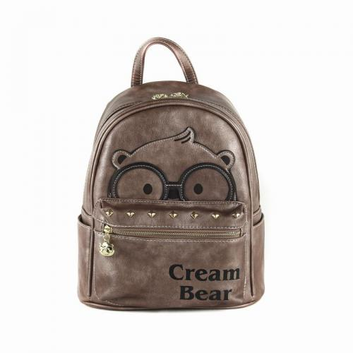 Originální dámský/dívčí batoh Cream Bear, C1024-2
