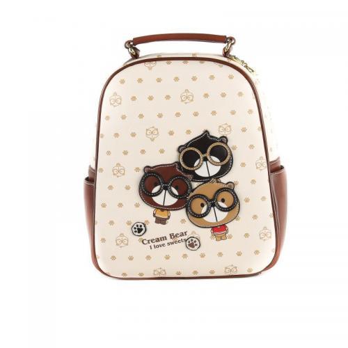 Originální dámský/dívčí batoh Cream Bear, C1002-2