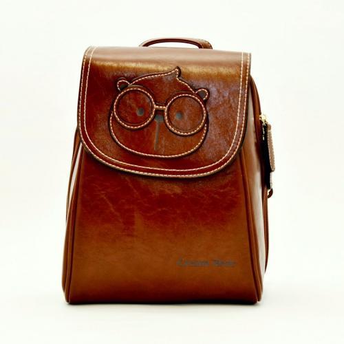 Originální dámský/dívčí batoh Cream Bear, C1012-4 light brown