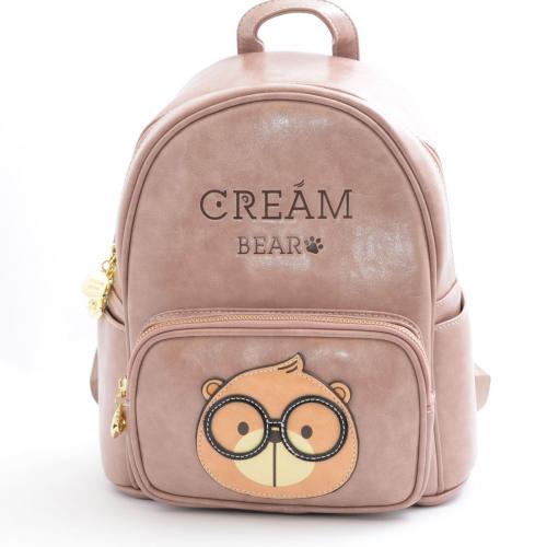 Originální dámský/dívčí batoh Cream Bear, C1052-3